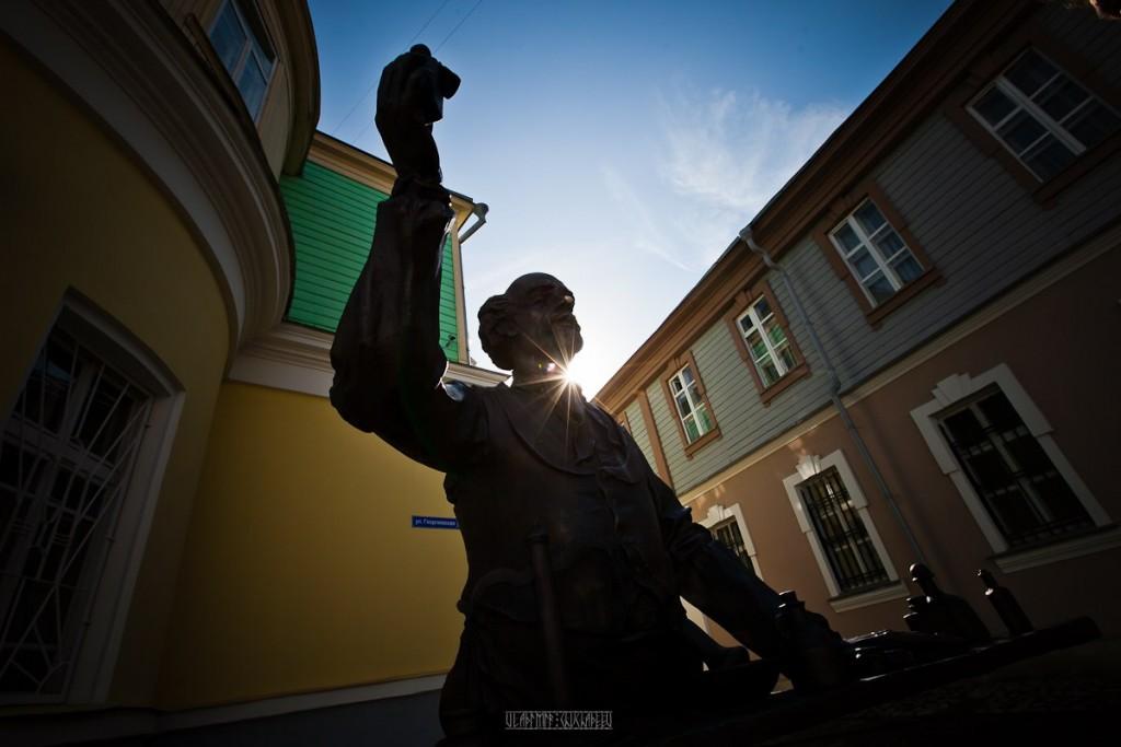 Прогулка по Георгиевской улице с Владимиром Чучадеевым 03