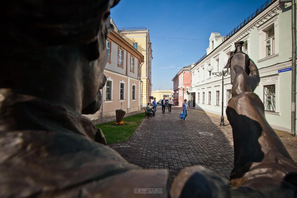 Прогулка по Георгиевской улице с Владимиром Чучадеевым 04