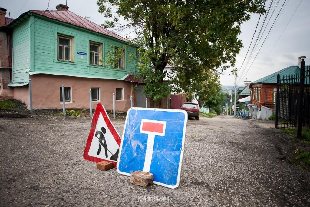 Прогулка по дождливой улице Владимира 03
