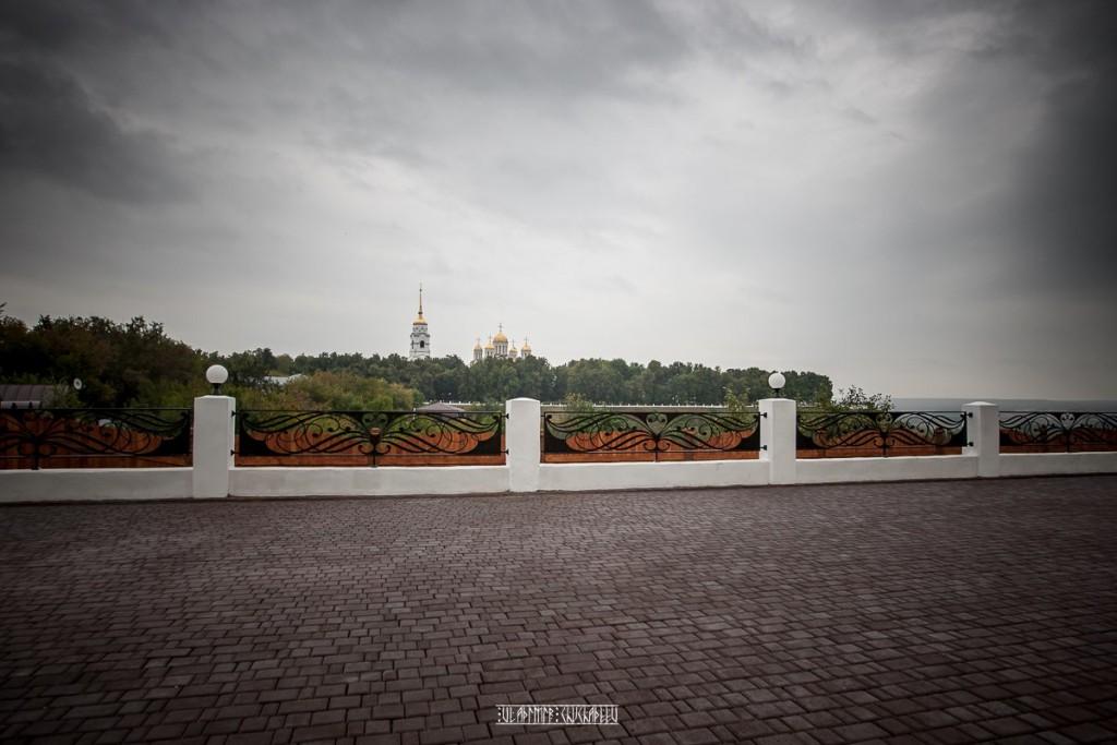 Прогулка по дождливой улице Владимира 05