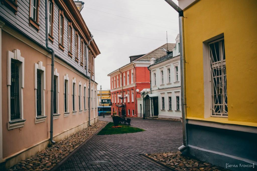 Прогулка по новой пешеходной г. Владимира 01