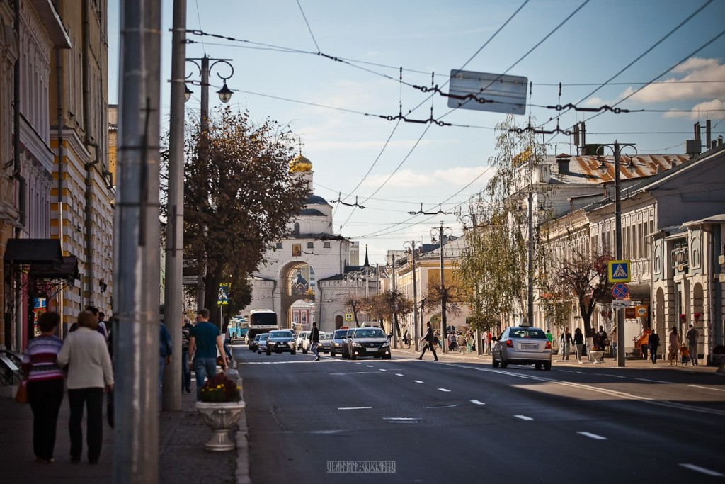 Прогулка по улице Владимира