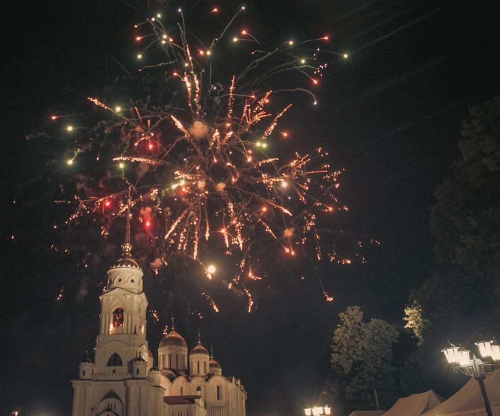Салют на день города 2015 во Владимире 04