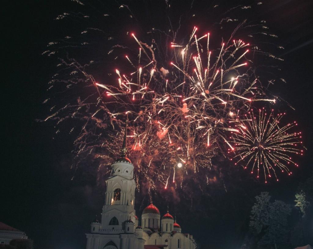 Салют на день города 2015 во Владимире 05