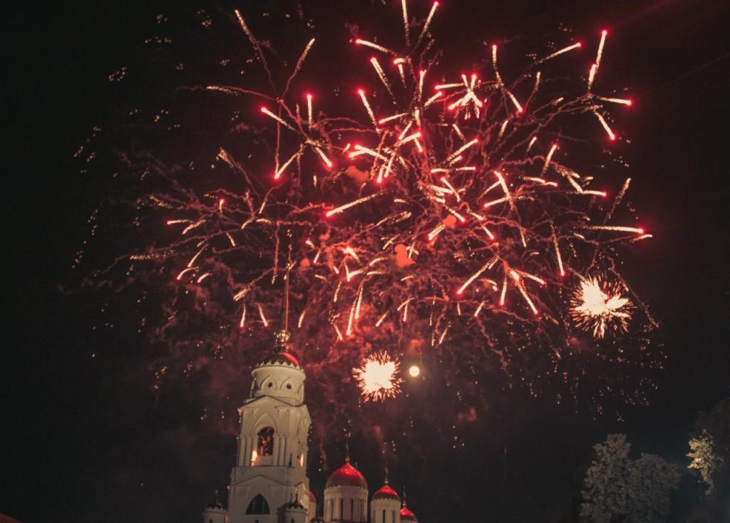 Салют на день города 2015 во Владимире 06