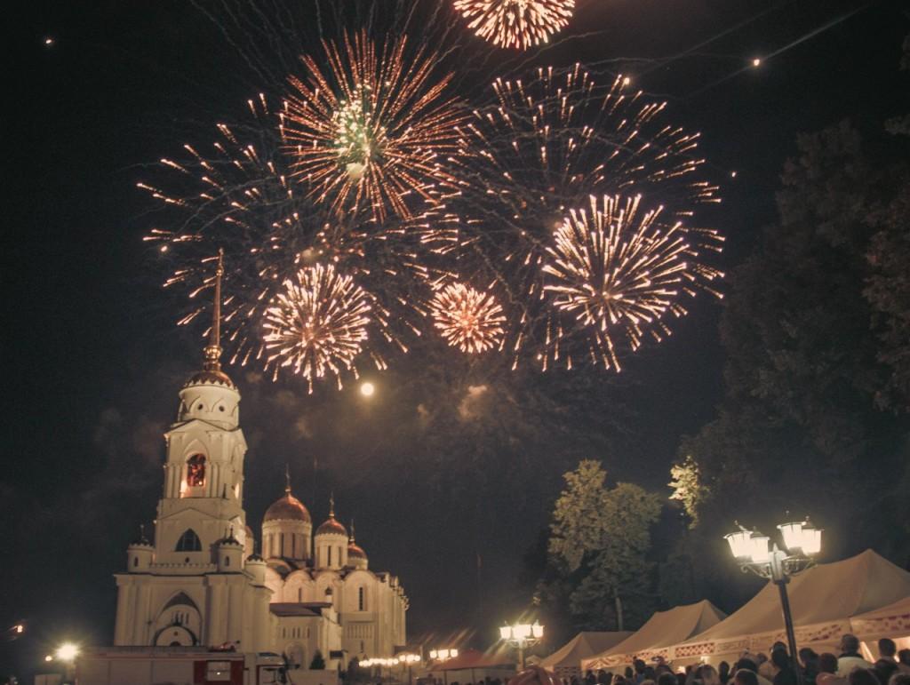 Салют на день города 2015 во Владимире 07