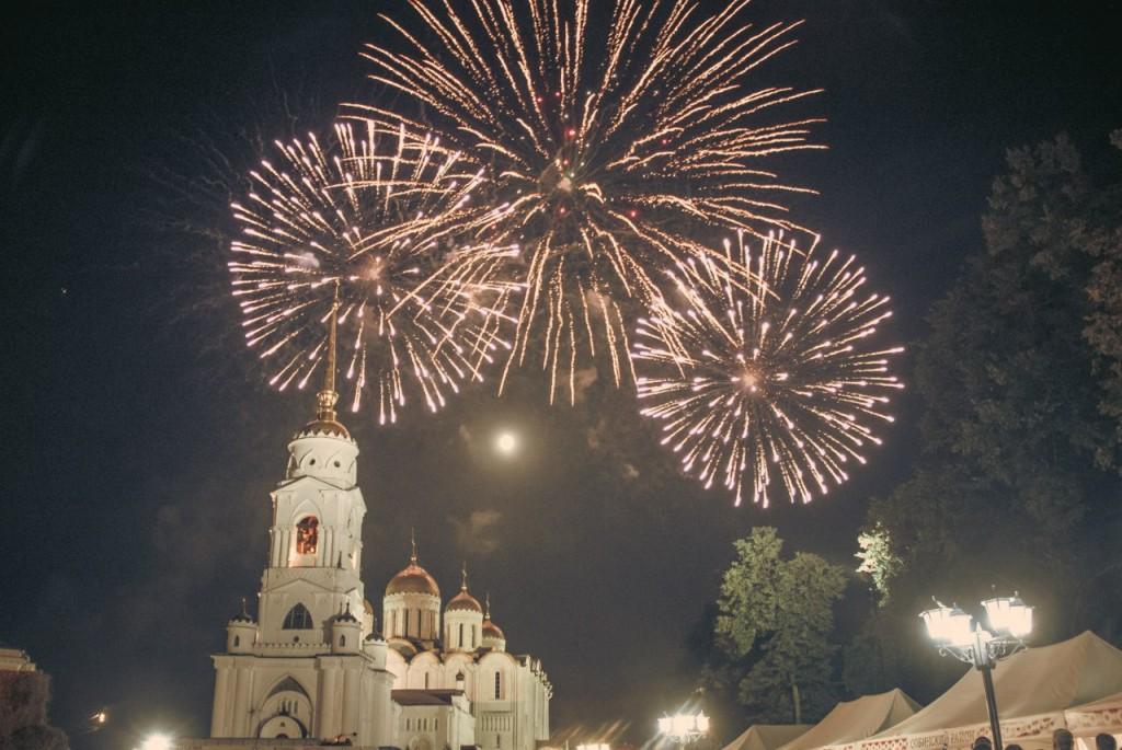 Салют на день города 2015 во Владимире 08