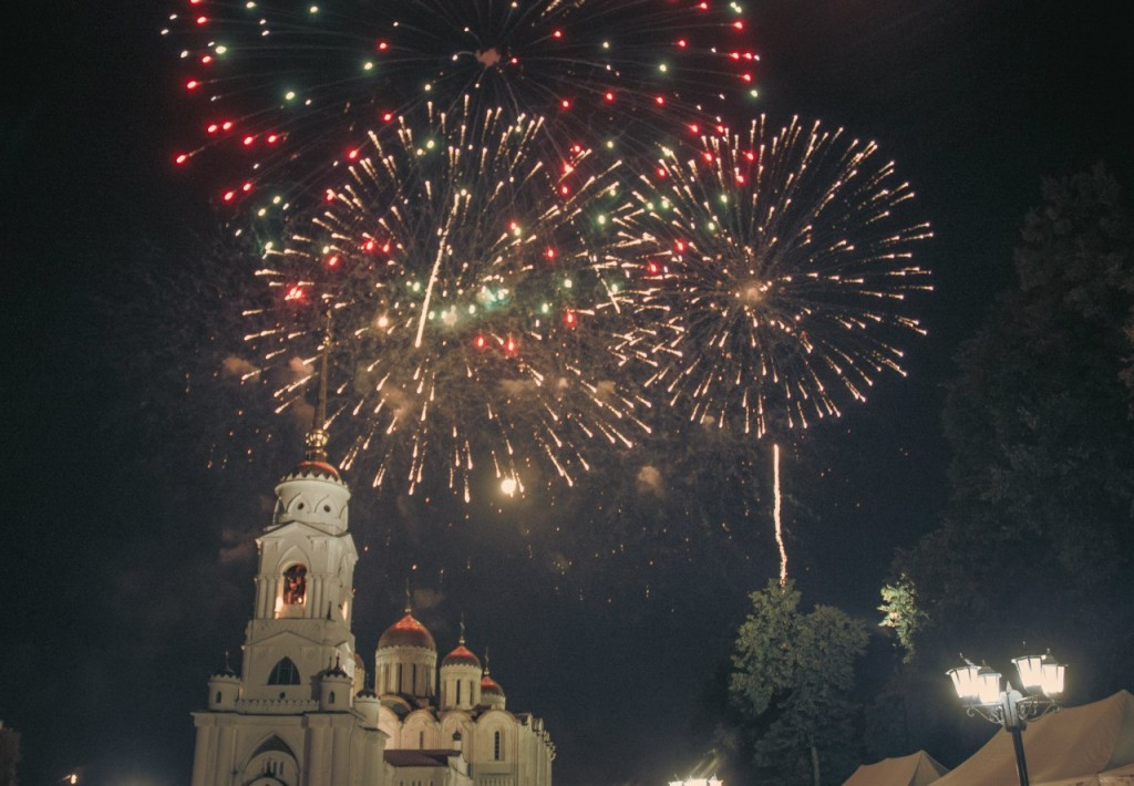 Салют на день города 2015 во Владимире 09