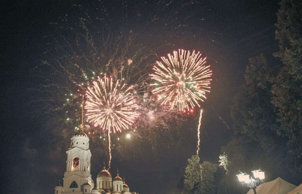 Салют на день города 2015 во Владимире 10