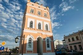Сквер Ермакова в Муроме и Водонапорная башня