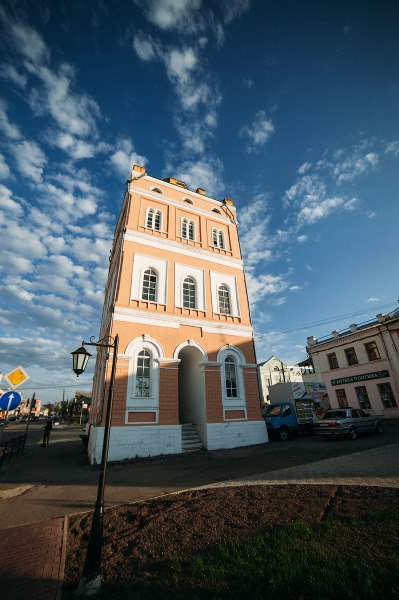 Сквер Ермакова в Муроме и Водонапорная башня 01
