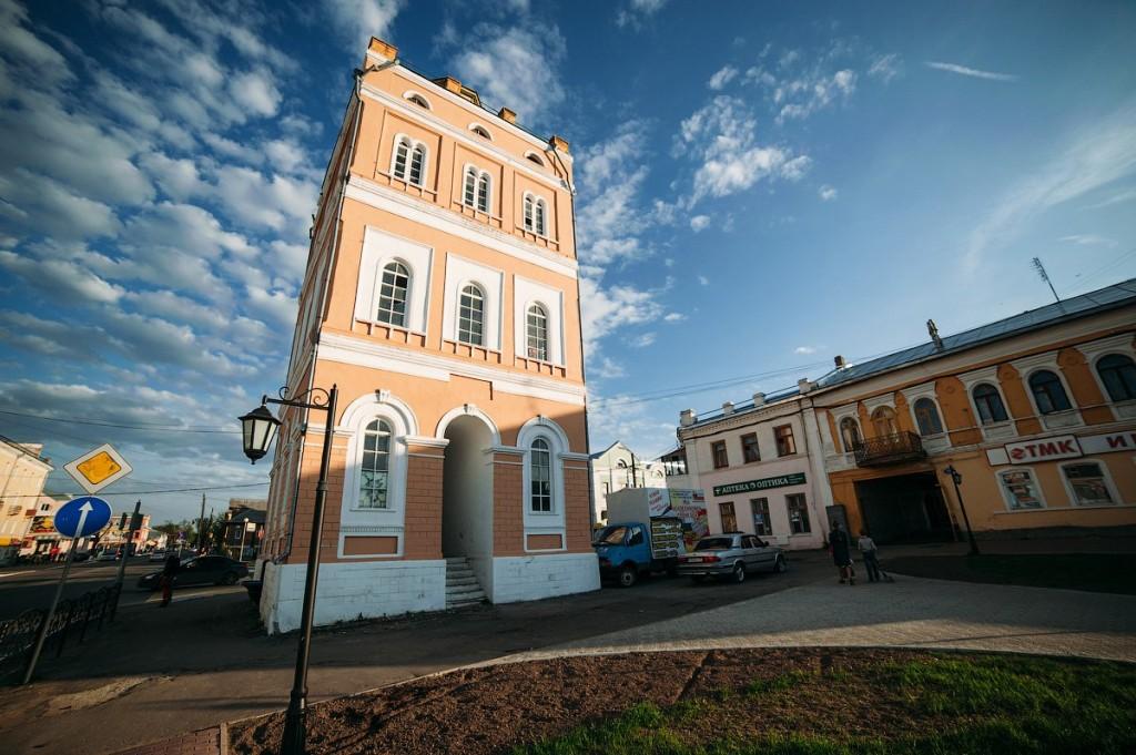 Сквер Ермакова в Муроме и Водонапорная башня 03