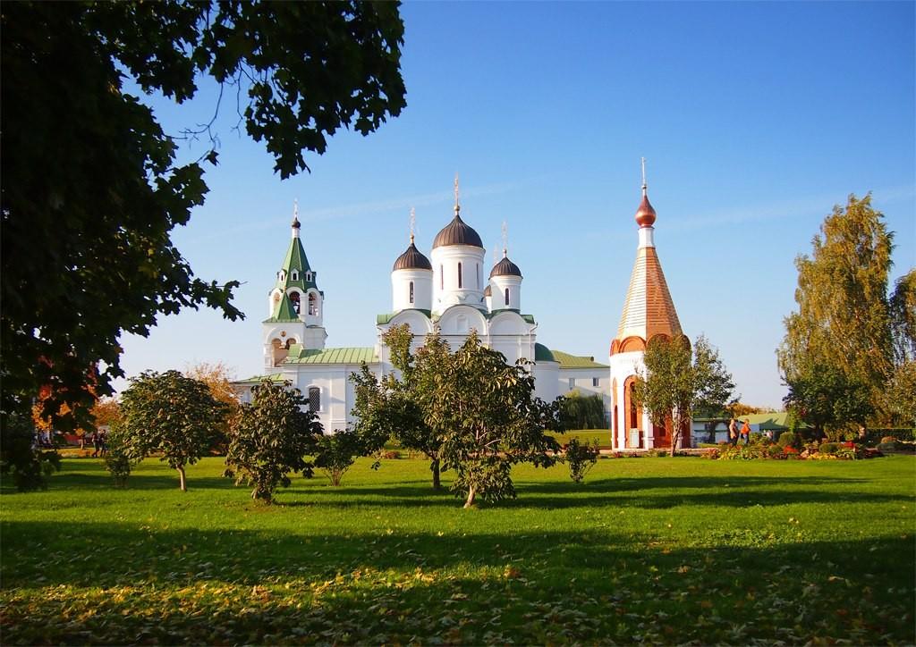 Спасский монастырь в Муроме - Теплый сентябрь