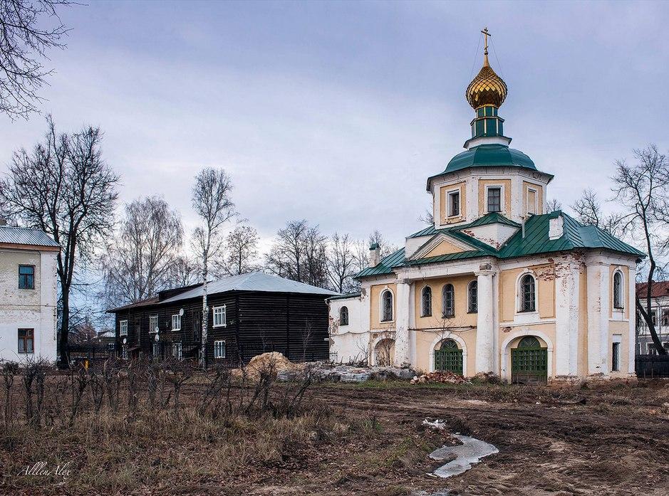Старинный русский торговый город Вязники 01