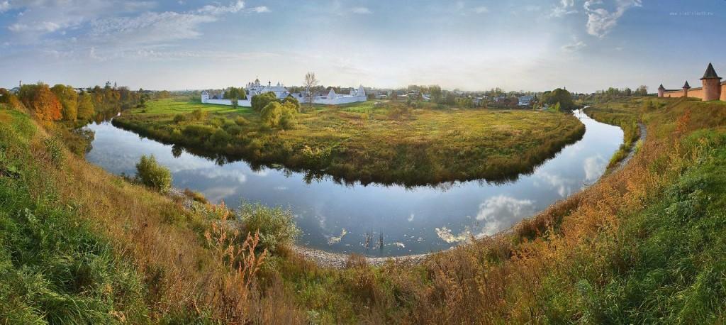 Суздальская панорама от Владислава Тябина