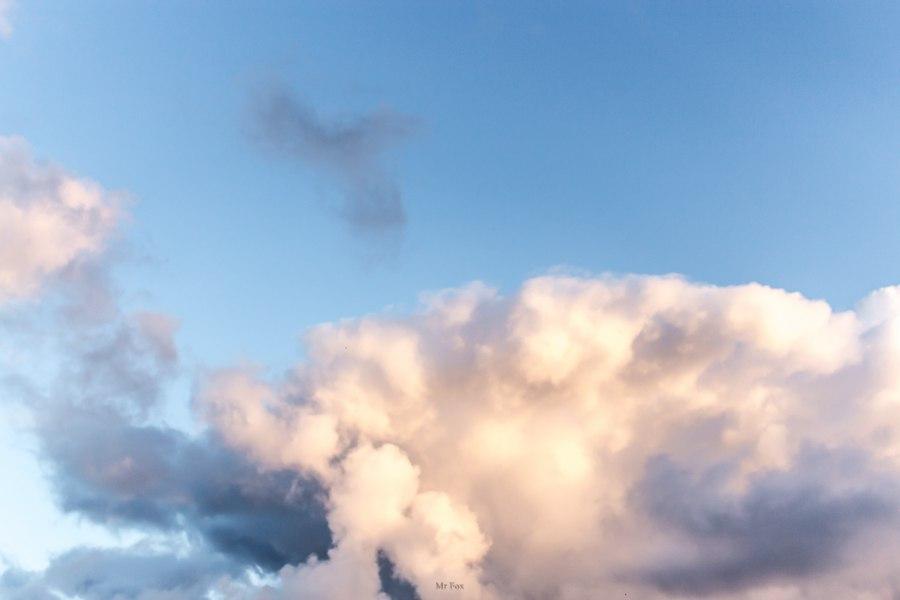 Такое разное небо ; Автор  Mr Fox 03