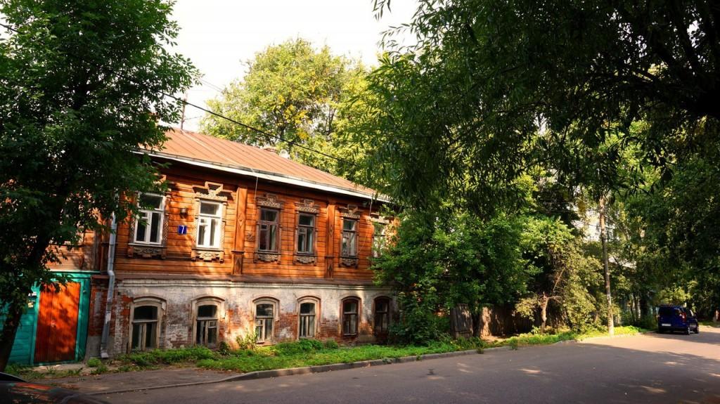 Улица Володарского во Владимире