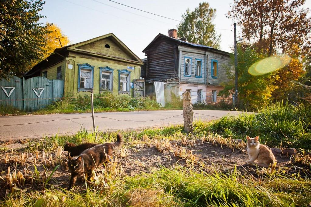 Улица Ильинская-Покатая во Владимире 01