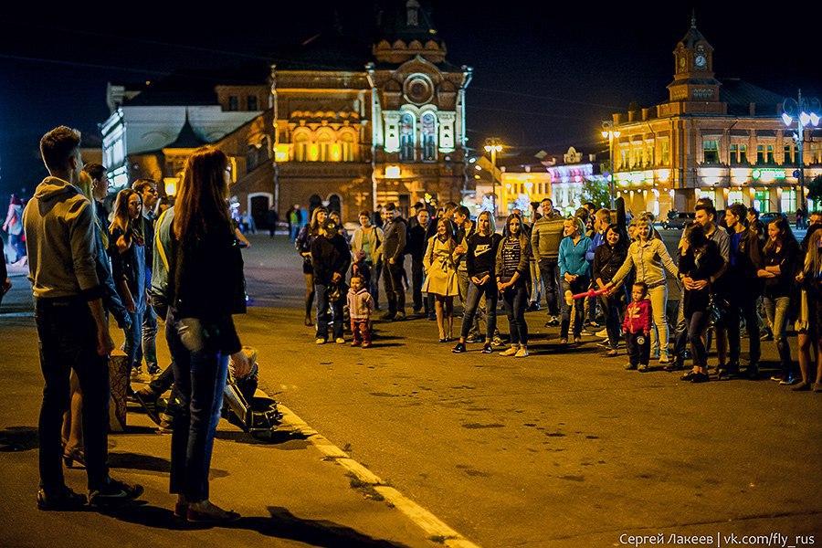 Уличные музыканты во Владимире 01