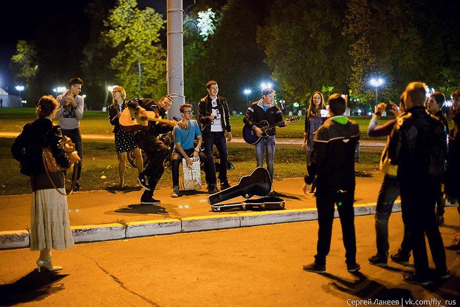 Уличные музыканты во Владимире 03