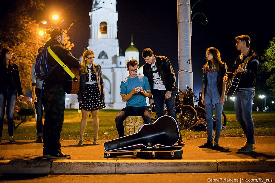 Уличные музыканты во Владимире 04