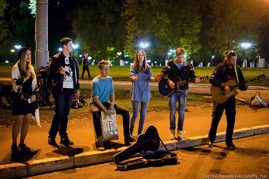 Уличные музыканты во Владимире 05