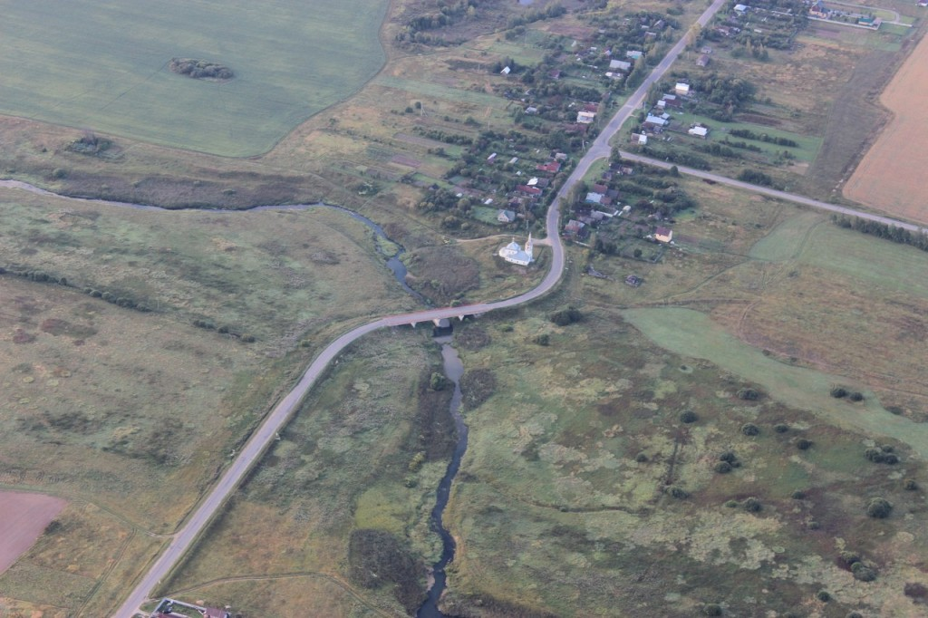 Утренний полет над облаками с парашютистами над Владимирской областью 1-
