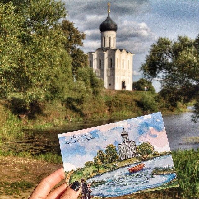 Храм Покрова на Нерли - символ архитектуры Руси XII века