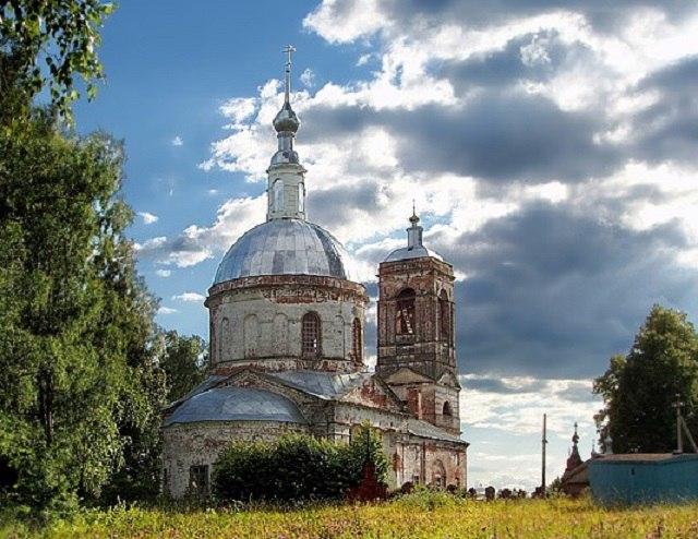 Церковь Покрова Пресвятой Богородицы (д. Глазово) 03