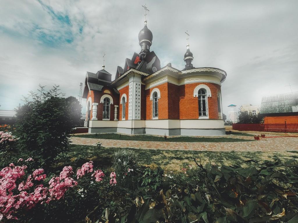 Церковь Серафима Саровского в Александрове