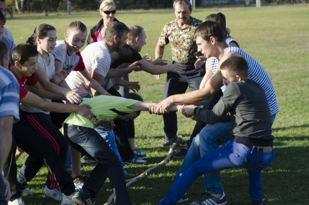 26 сентября в Покрове состоялись Русские забавы! 09