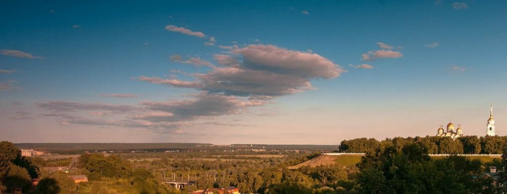 Владимирская панорама наоборот