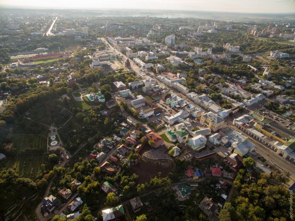 Владимир и его центр с высоты 03