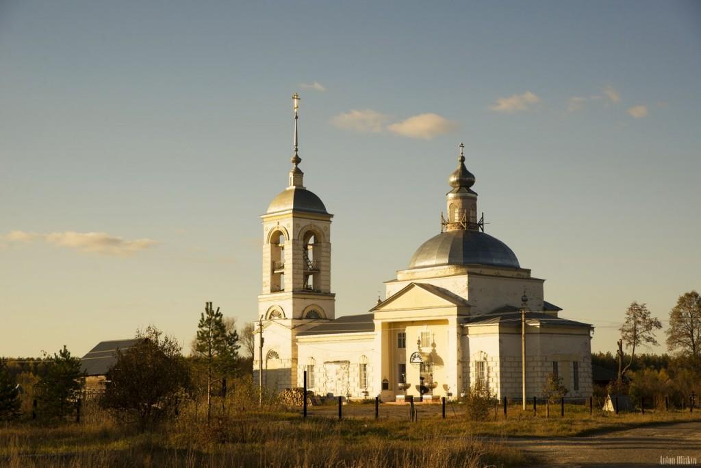 Вознесенская церковь, с. Вёшки, Гусь-Хрустальный р-н 01