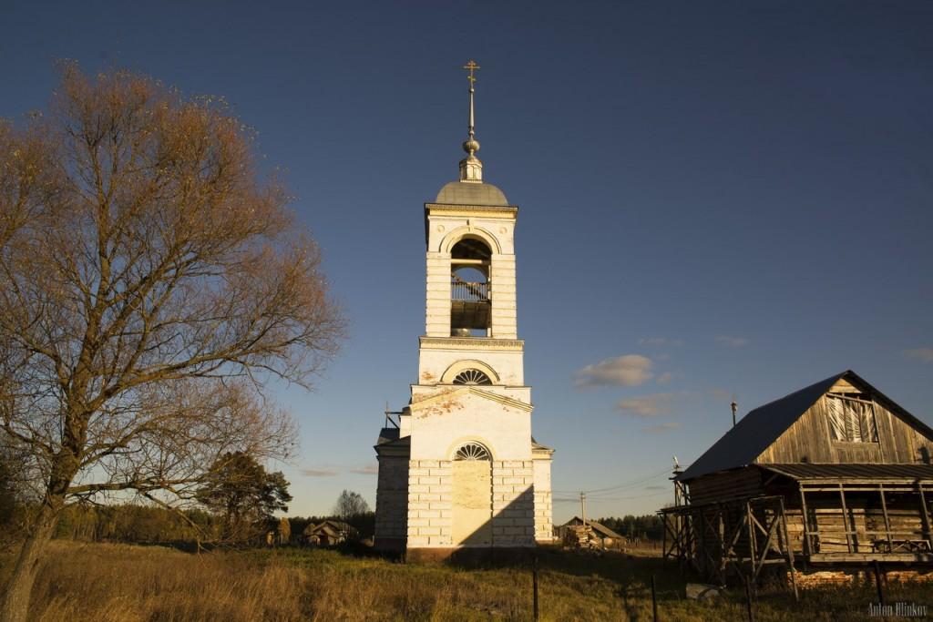 Вознесенская церковь, с. Вёшки, Гусь-Хрустальный р-н 02