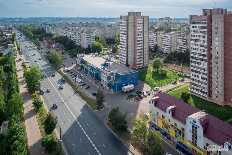 Городская среда Владимира с высоты 01