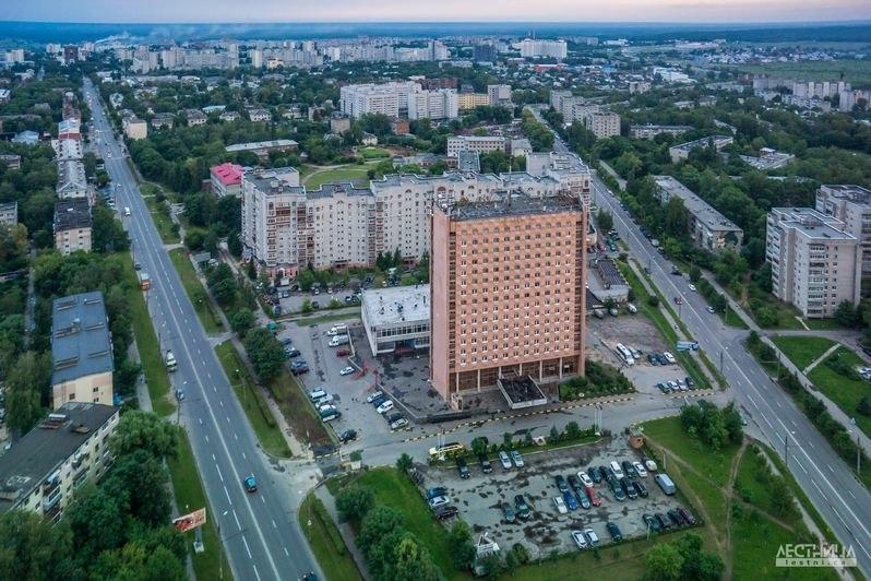 Городская среда Владимира с высоты 02