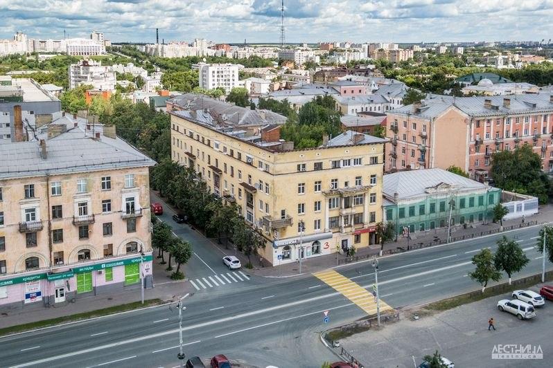 Городская среда Владимира с высоты 03
