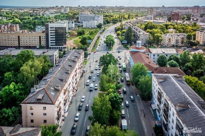Городская среда Владимира с высоты 04