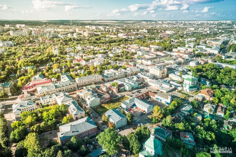 Городская среда Владимира с высоты 05