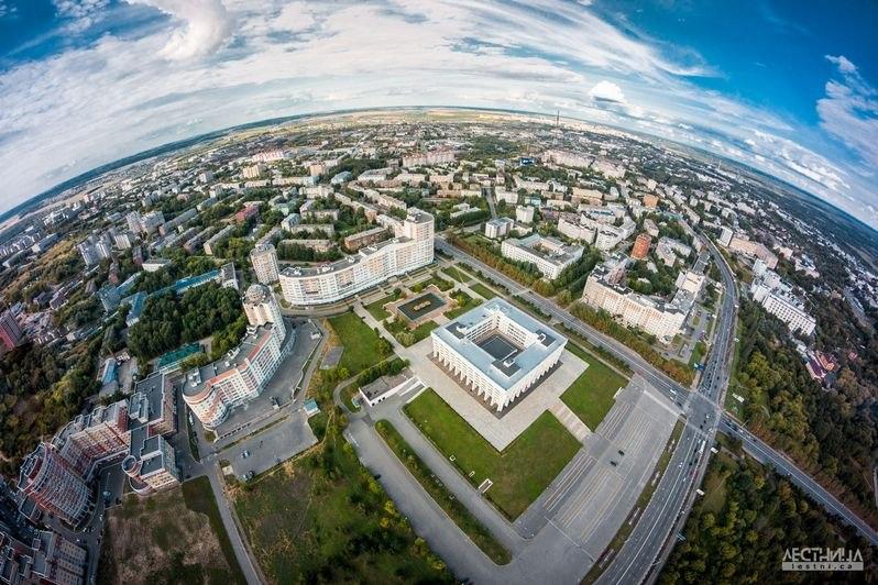 Городская среда Владимира с высоты 06