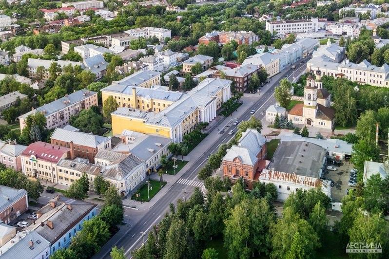 Городская среда Владимира с высоты 07