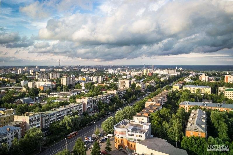 Городская среда Владимира с высоты 08