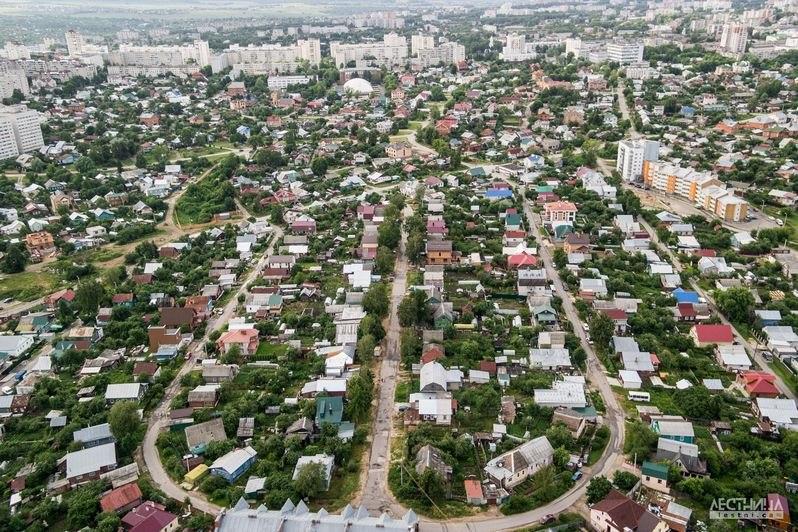Городская среда Владимира с высоты 09
