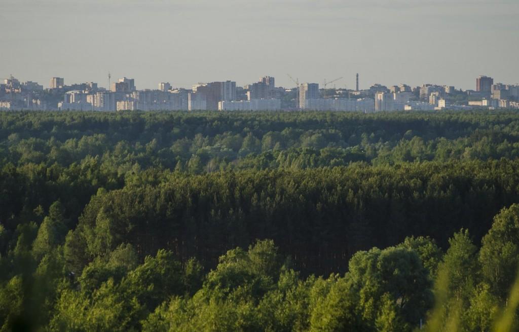 Город Владимир. Вид с окраины 02