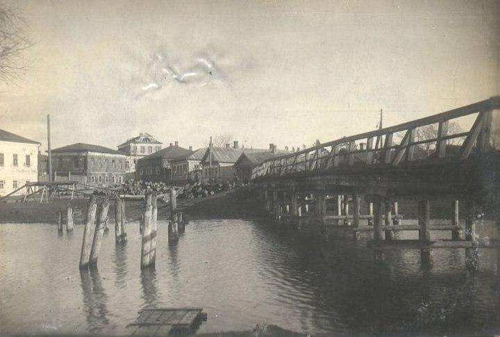 Город Юрьев-Польский на старой открытке 07