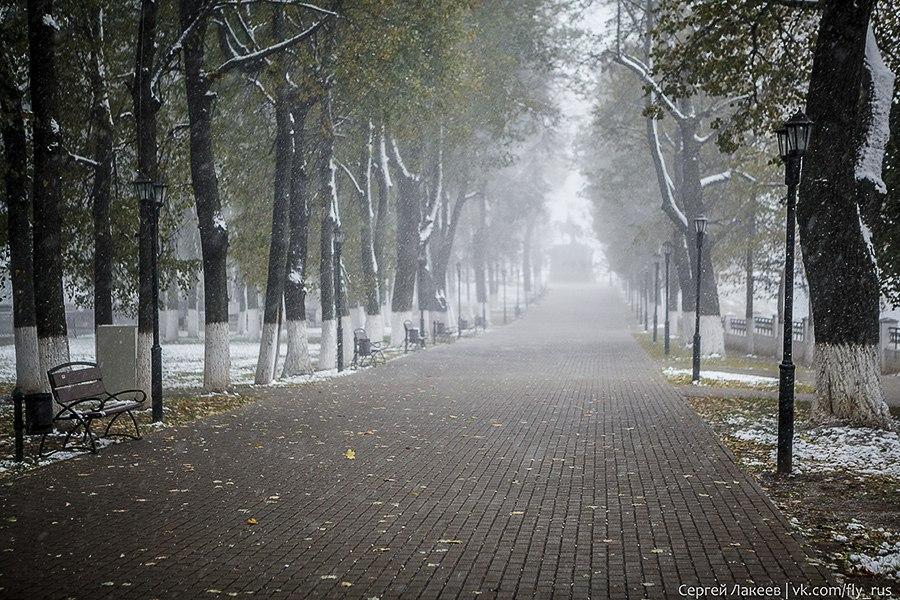 Еще немного снежного Владимира 01