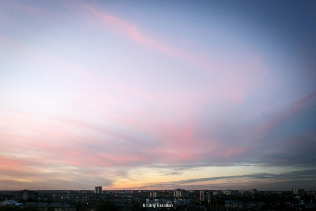 Закат на крыше во Владимире 03