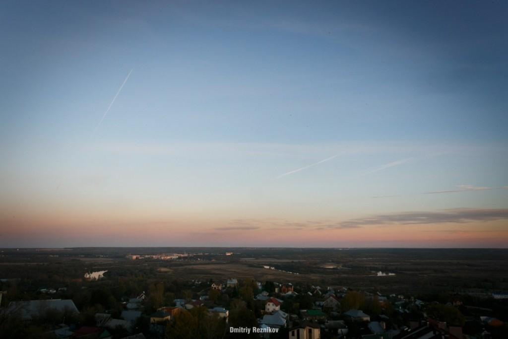 Закат на крыше во Владимире 07