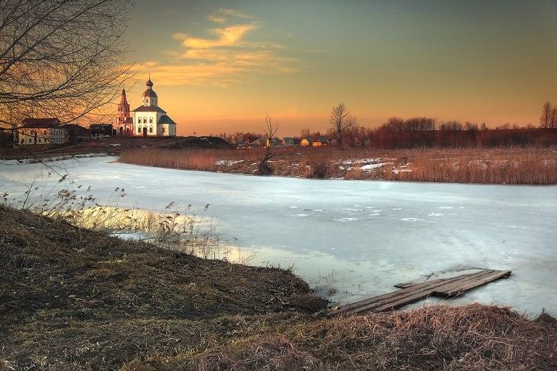 Ильинская церковь, март, Суздаль. Фотограф - Аркадий Усиков (ARCUS)
